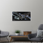 Star Trek: The Original Series Ships of the Line Beyond the Farthest Star Floating Frame Wrapped Canvas