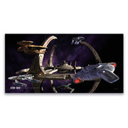 Star Trek: Deep Space Nine Ships of the Line Wheel in the Sky Removable Wall Peel