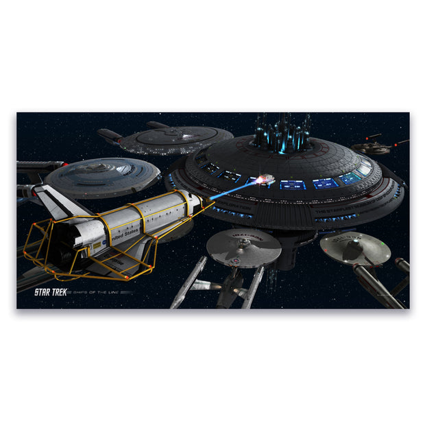 Star Trek Ships of the Line Acquisition Removable Wall Cling