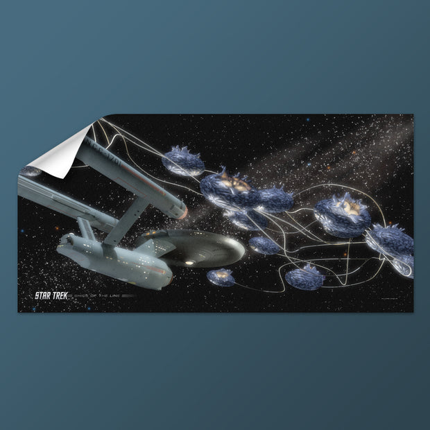 Star Trek: The Original Series Ships of the Line Beyond the Farthest Star Removable Wall Peel