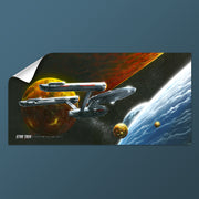 Star Trek: The Original Series Ships of the Line Oceans of Blue and Seas of Fire Removable Wall Peel