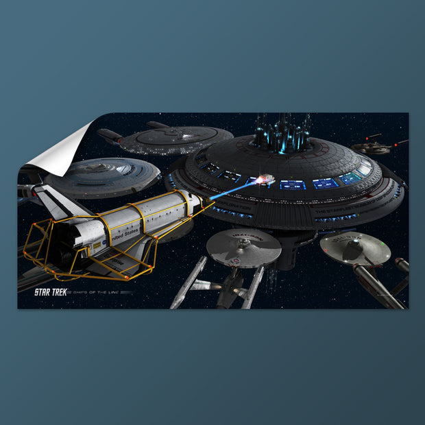 Star Trek Ships of the Line Acquisition Removable Wall Peel