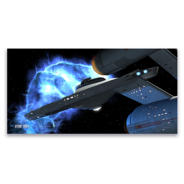 Star Trek: The Original Series Ships of the Line Righteous Wrath Satin Poster