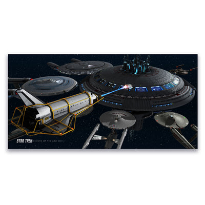 Star Trek Ships of the Line Acquisition Satin Poster