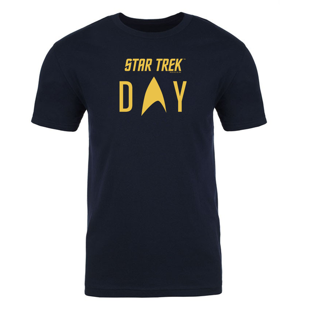 Star Trek Day Logo Adult Short Sleeve T-Shirt