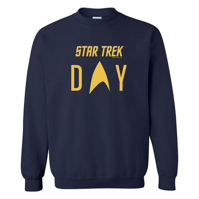 Star Trek Day Logo Fleece Crewneck Sweatshirt