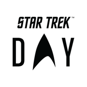 Star Trek Day Logo 14 oz Stainless Steel Travel Mug with Handle