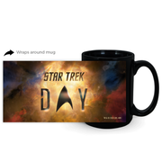 Star Trek Day Logo Black Mug