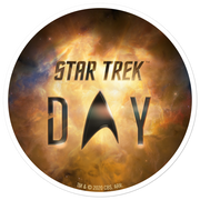 Star Trek Day Logo Die Cut Sticker