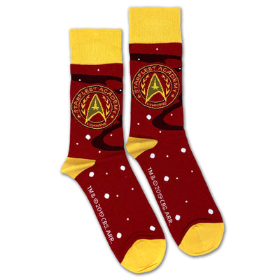 Star Trek Starfleet Academy Command Sock