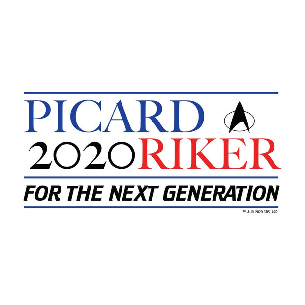 Star Trek: The Next Generation Picard Riker 2020 Fleece Hooded Sweatshirt