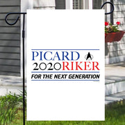 Star Trek: The Next Generation Picard Riker 2020 Garden Flag