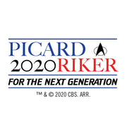 Star Trek: The Next Generation Picard Riker 2020 Shot Glass