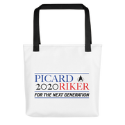 Star Trek: The Next Generation Picard Riker 2020 Premium Tote Bag