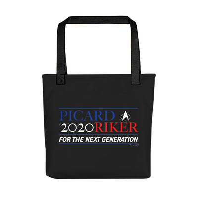 Star Trek: The Next Generation Picard Riker 2020 Tote Bag