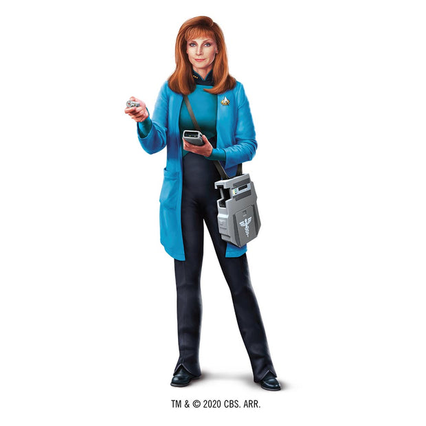 Star Trek: The Next Generation Beverly Crusher 16 oz Stainless Steel Thermal Travel Mug