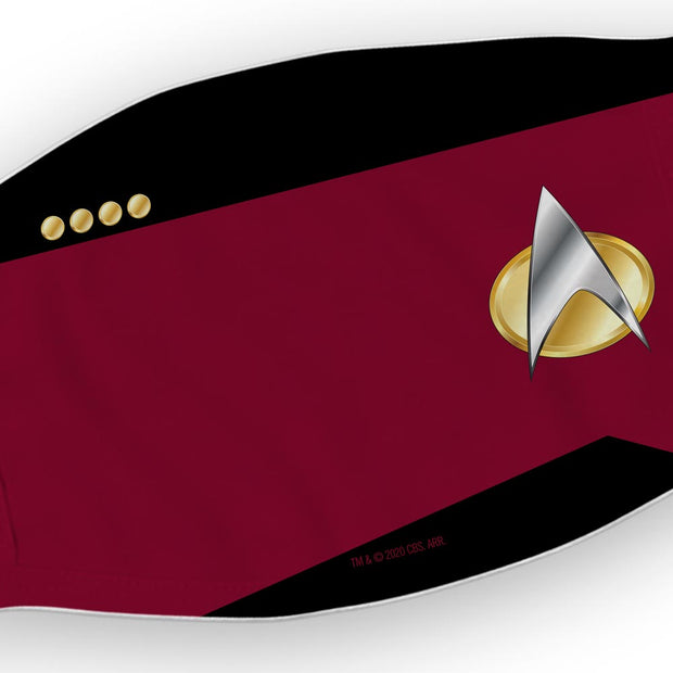 Star Trek: The Next Generation Command Washable Face Mask