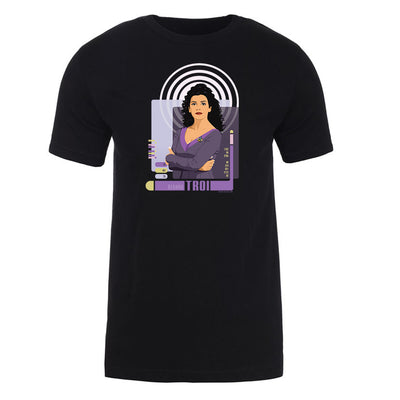 Star Trek: The Next Generation Deanna Troi Adult Short Sleeve T-Shirt