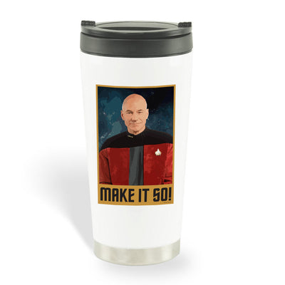 Star Trek: The Next Generation Make It So Portrait Travel Mug