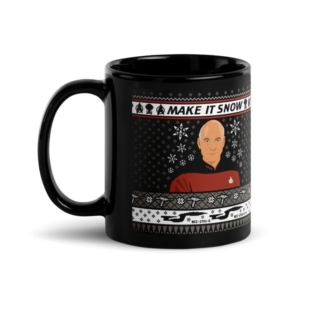 Star Trek: The Next Generation Make It Snow Mug