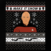Star Trek: The Next Generation Make It Snow Women's Relaxed Scoop Neck T-Shirt