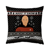 "Star Trek: The Next Generation Make It Snow Pillow - 16"" x 16"""