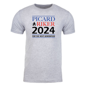 Star Trek: The Next Generation Picard & Riker 2024 Adult Short Sleeve T-Shirt