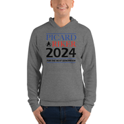 Star Trek: The Next Generation Picard & Riker 2024 Adult Fleece Hooded Sweatshirt
