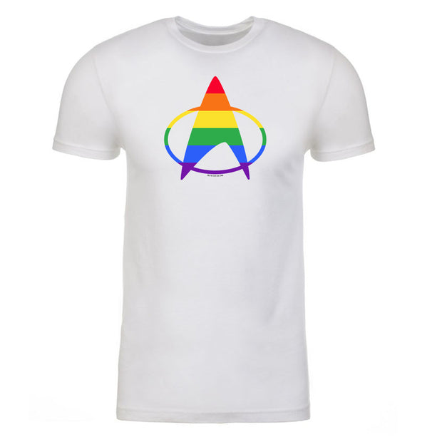 Star Trek: The Next Generation Pride Delta Adult Short Sleeve T-Shirt