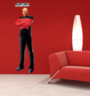 Star Trek: The Next Generation Picard TNG Wall Decal Sticker