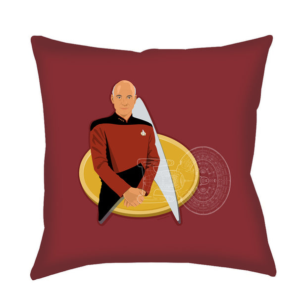 Star Trek: The Next Generation Picard Delta Pillow