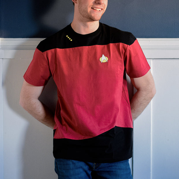 Star Trek: The Next Generation Command Uniform T-Shirt