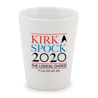 Star Trek: The Original Series Kirk & Spock 2020 Shot Glass