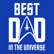 Star Trek: The Original Series Best Dad In The Universe Adult Short Sleeve T-Shirt