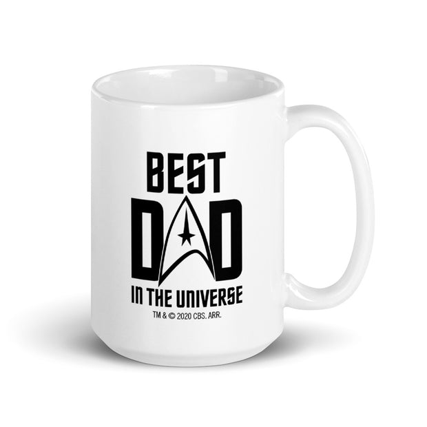 Star Trek: The Original Series Best Dad In The Universe Personalized White Mug