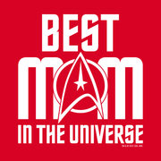 Star Trek: The Original Series Best Mom in the Universe Women's Short Sleeve T-Shirt