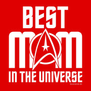 Star Trek: The Original Series Best Mom in the Universe Women's Relaxed Scoop Neck T-Shirt