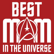 Star Trek: The Original Series Best Mom in the Universe Sherpa Blanket