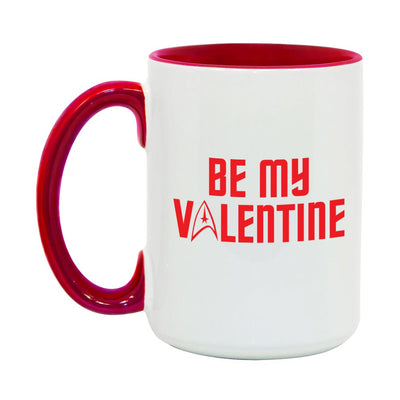 Star Trek: The Original Series Be My Valentine Two-Tone Mug