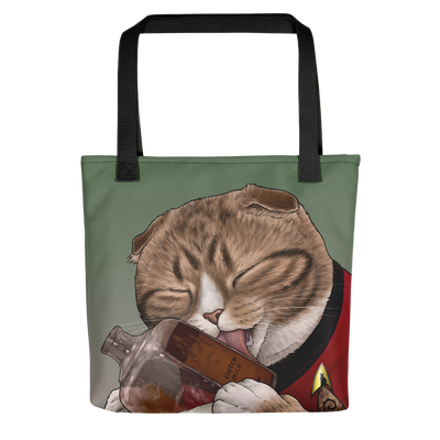 Star Trek: The Original Series Milk Cat Premium Tote Bag