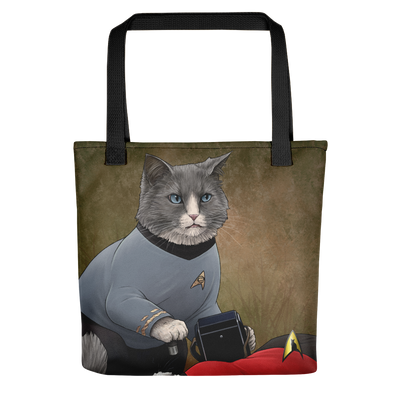 Star Trek: The Original Series McCoy Cat Premium Tote Bag