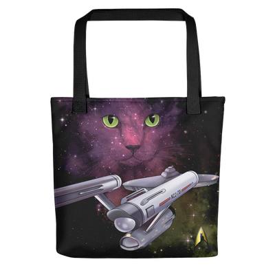 Star Trek: The Original Series Space Cat Premium Tote Bag