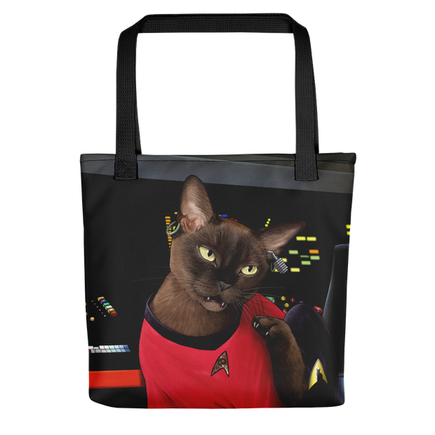 Star Trek: The Original Series Uhura Cat Premium Tote Bag
