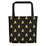 Star Trek: The Original Series Candy Corn Deltas Premium Tote Bag