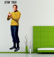 Star Trek: The Original Series Captain Kirk Wall Decal