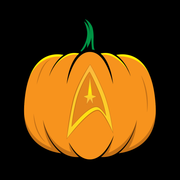 Star Trek: The Original Series Delta Pumpkin Black Mug