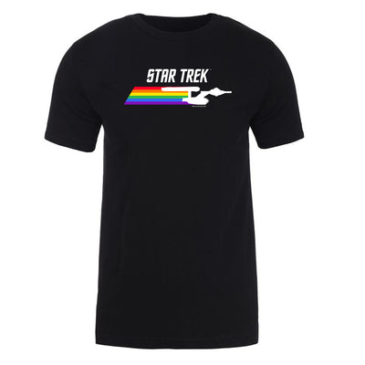 Star Trek: The Original Series Pride Enterprise Adult Short Sleeve T-Shirt