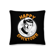 Star Trek: The Original Series Happy Spocktober Throw Pillow