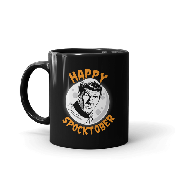 Star Trek: The Original Series Happy Spocktober Black Mug