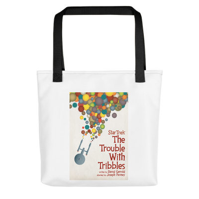 Star Trek: The Original Series Juan Ortiz The Trouble With Tribbles Canvas Tote